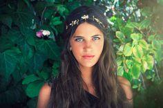 Berry headband,  Hair accessories Headpieces, Hair Wreath, gold Leaf Crown, Wedding Headband, Roman, Greek Goddess Headband