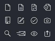 UI Icons by Prekesh Chavda