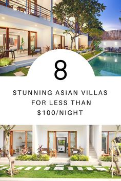Explore Asia without breaking the bank! Book one of these stunning villas and experience the continent's gorgeous beaches, historic temples, and lively nightlife for yourself. Round Trip, Vacation Rentals, Asia Travel, Nightlife, Continents, Travel Around, Temples, Villas, Trip Advisor