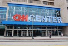CNN Center, Atlanta, GA.  Most definitely not my favorite news organization, but they do give a great tour of their place.  www.humanitylife.blogspot.com