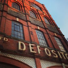 Pettmans' Depository, home of Hello Print Studio and Resort Studios in Margate's Cliftonville area.
