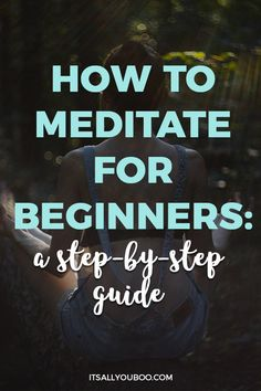 Are you interested in meditation but wondering how to do it? Here is a step by step guide on how to meditate daily when you're a beginner. Meditation Meaning, Meditation For Anxiety, Breathing Meditation, Types Of Meditation, Morning Meditation, Meditation For Beginners, Meditation Benefits, Meditation Techniques, Meditation Quotes