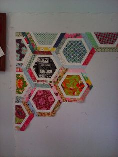 #Hexagon quilt so far