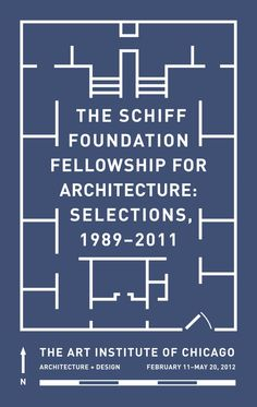 Exhibition graphics for the Schiff Foundation Fellowship exhibition at the Art Institute of Chicago.