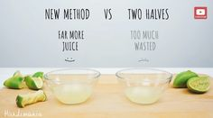 No more wasting lime juice!
