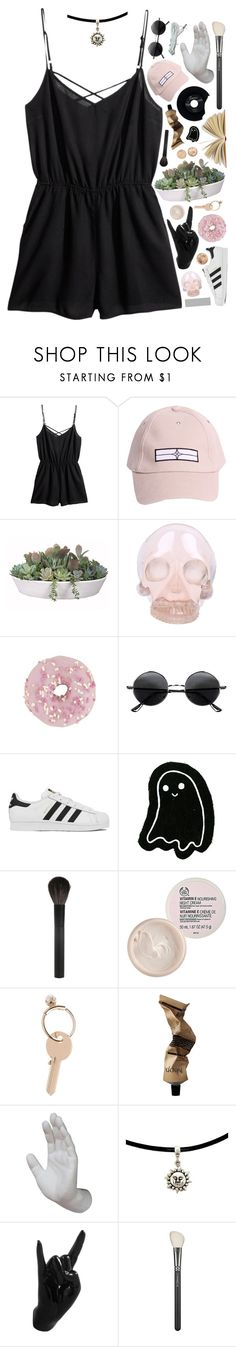 """""""i'm tangling up in chains on the swings on the set on the night that we met"""" by caitlin-555 ❤ liked on Polyvore featuring H&M, STONE ISLAND, VesseL, Horace, Retrò, adidas, Giorgio Armani, The Body Shop, Maison Margiela and Aesop"""