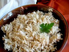 For a new way to add subtle flavor to your dish, try this recipe for Peanut Butter Rice using Basmati #CarolinaRice.