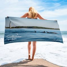 Dolphins at the Cape Towel