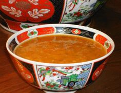 Classic Moroccan Harira Recipe - Moroccan Tomato, Lentil, and Chickpea Soup- requires significant prep work and takes quite a while to cook Moroccan Soup, Moroccan Dishes, Moroccan Recipes, Cinnamon Recipes, Top Recipes, Cooking Recipes, Cooking Ideas, Recipies, Healthy Recipes