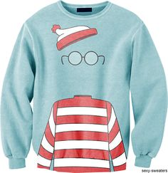 where's waldo sweatshirt