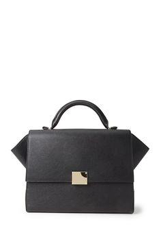 Satchel aus Kunstleder - Damen Accessoires, Schmuck und Taschen | online shoppen | Forever 21 - Taschen & Geldbeutel - 1000102716 - Forever 21 EU