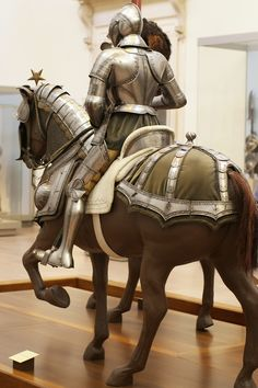 Find this Pin and more on Historic Horse Armour and Barding. & Armour for horse and man | Horse Horse armor and Horse costumes