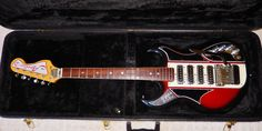 Vintage 1967 Apollo Deluxe 2235 Electric Guitar, Japan, With Case   eBay