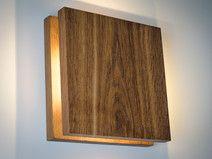 Wandleuchte Holz SC # 33 handgefertigt