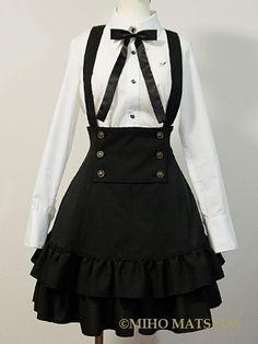Harajuku Fashion, Kawaii Fashion, Lolita Fashion, Anime Outfits, Dress Outfits, Fashion Outfits, Kawaii Clothes, Lolita Dress, Gothic Lolita