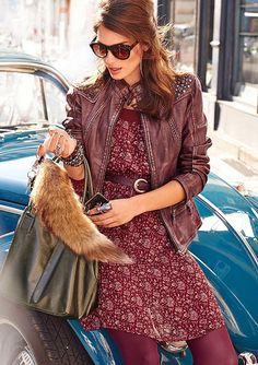 Šaty, Aniston Marsala, Shops, Pantone, Fashion 2015, Style Fashion, Shopping, Dress, Chic, Gowns