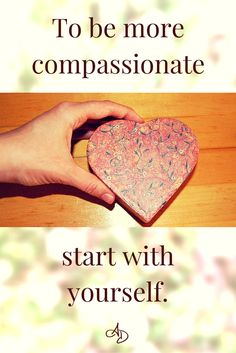 You want to be compassionate. You want to be more empathetic. But are you compassionate to yourself? Unboxing your heart will help you increase your compassion, empathy, and so much more! Click to find out how, or pin for later!