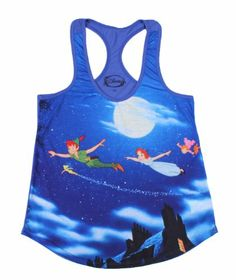 Disney Peter Pan Girls Tank Top Junior's Shirt  http://www.amazon.com/gp/product/B00F683698