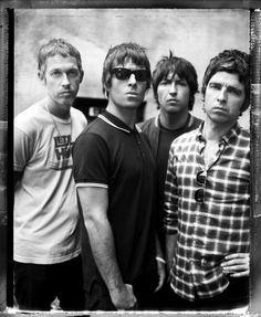 Oasis, I really enjoyed their sound. Happy B-day Noel G. Kinds Of Music, Music Love, Music Is Life, Music Music, Foo Fighters, Radiohead, Bon Jovi, Great Bands, Cool Bands