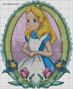 Punto croce disney media 68 best cross stitch disney images on Disney Cross Stitch Patterns, Cross Stitch Charts, Cross Stitch Designs, Disney Stitch, Blackwork Embroidery, Cross Stitch Embroidery, Alphabet Disney, Alice In Wonderland Cross Stitch, Wonderland Alice