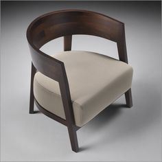 flexform antony armchair, wood & leather or fabric