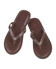 aef289669e6b8 Paige Leather Flip Flops at Fat Face