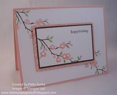 Birthday Flowers by LaLatty - Cards and Paper Crafts at Splitcoaststampers