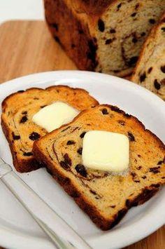 Gluten Free Cinnamon Raisin Bread Recipe for Bread Machine == Gluten Free on a Shoestring (try to make in oven)