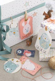 DIY Noël, des étiquettes personnalisées à télécharger - christmas printable  - Marie Claire Idées Faire a4382066b86