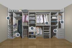 Resultado de imagen de wardrobe storage solutions for small bedrooms Bedroom Wardrobe, Wardrobe Closet, Master Closet, Home Bedroom, Open Wardrobe, Bedroom Ideas, Wardrobe Organisation, Wardrobe Storage, Bedroom Storage
