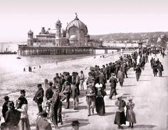 Nice, the pier in 1900: Belle Epoque architecture in Nice