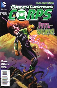 Green Lantern Corps # 22 DC Comics The New 52! Vol 3