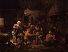 the Lean Kitchen Artist: Jan Steen Completion Date: c.1650