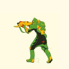 Unused character art By Calum Alexander Watt Character Creation, Game Character, Character Concept, Concept Art, Paint Tool Sai, Design Reference, Drawing Reference, Conceptual Drawing, Alien Art