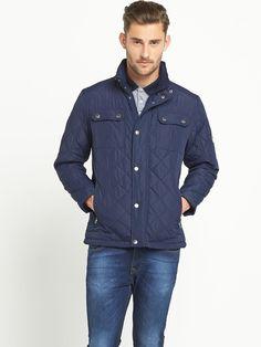 Goodsouls Mens Quilted Jacket | littlewoods.com