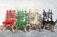 seguir las sillas de recogida de