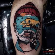 Image result for wes anderson flash tattoo