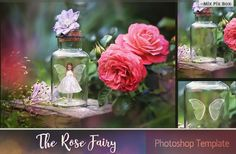Nice The Rose Fairy Template  CreativeWork247 - Fonts, Graphics, Themes, Te...
