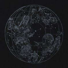 A Sky Full Of Stars by Coldplay (single cover) | Author: Mila Fürstová