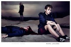 Miley Cyrus for Marc Jacobs – Spring/Summer 2014 Campaign (Vogue.com UK) shot by David Sims. #MileyCyrus