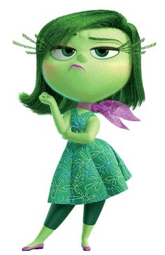 Disgust Inside Out Transparent PNG Image