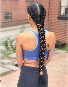 Braid action