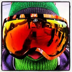 New goggles 😝🙈👌❄! Snowboarding, Skiing, New Goggles, Sunshine Village, Defying Gravity, Wide Angle, Powder, Electric, Passion