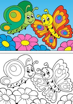 spring coloring pages Crayola Coloring Pages, Spring Coloring Pages, Coloring Pages For Kids, Coloring Books, Cartoon Drawing For Kids, Art Drawings For Kids, Easy Drawings, Kids Art Class, Art For Kids