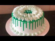 Icing Cake Design, Buttercream Cake Designs, Cake Decorating Frosting, Cake Decorating Designs, Cake Decorating For Beginners, Creative Cake Decorating, Cake Icing, Cake Decorating Tutorials, Heart Shaped Birthday Cake