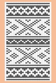 Løper i Setesdalsmønster – Tablerunner – Katrine Klarer Knitting Charts, Knitting Patterns, Crochet Patterns, C2c, Christmas Cross, Little Girl Dresses, Mosaic Tiles, Table Runners, Embroidery Stitches