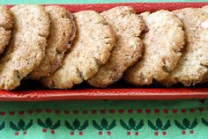 Paleo Gingersnaps - Gluten Free Ginger Snap Cookies Check out the website to see Paleo Cookies, Gluten Free Cookies, Gluten Free Desserts, Paleo Sweets, Paleo Dessert, Dessert Recipes, Healthy Desserts, Ginger Snaps Recipe, Ginger Snap Cookies