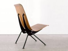 JEAN PROUVÉ - BENT STEEL AND MOLDED PLYWOOD