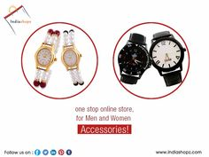 #IndiaShopz,  one stop online store, for #Men and #Women #Accessories! Latest trends at affordable prices.