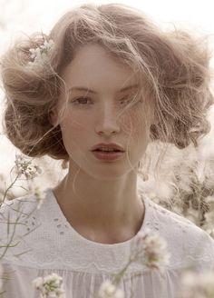 Mona Johannesson for Elle Sweden 2008